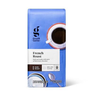 French Dark Roast Ground Coffee - 12oz - Good & Gather™