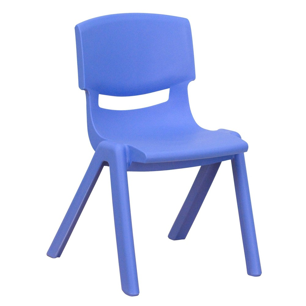 Image of X-Small Stacking Student Chair - Blue - Belnick, Adult Unisex, Size: XS