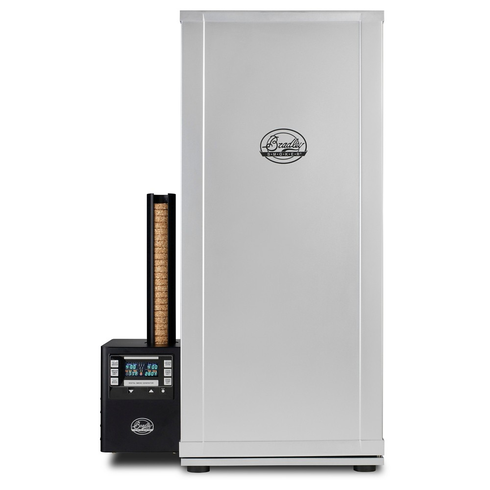 Bradley Smoker Digital 6-Rack Smoker, Silver 50104942