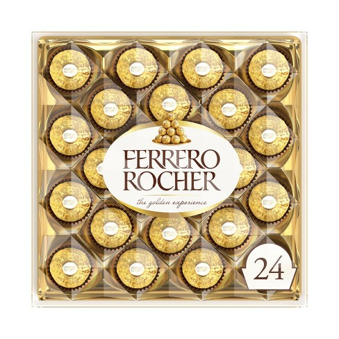 Ferrero Rocher Fine Hazelnut Chocolates 24ct - image 1 of 4