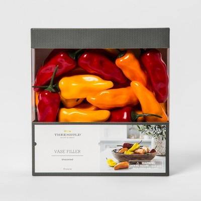 Unscented Artificial Sweet Bell Peppers Vase Filler - Threshold™
