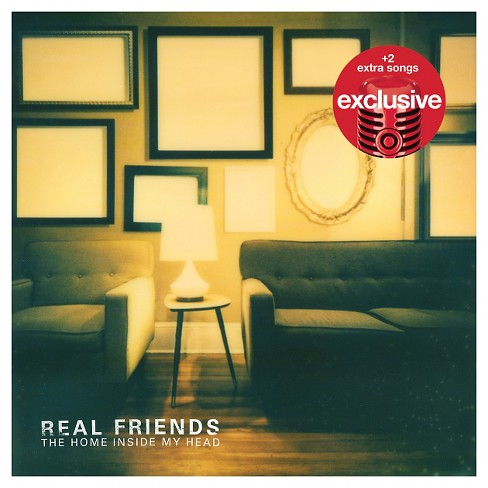 Real Friends - The Home Inside My Head (Target Exclusive) - image 1 of 1