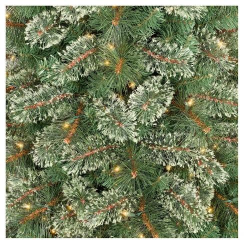 75ft prelit artificial christmas tree pencil virginia pine clear lights wondershop target - Artificial Christmas Tree Prelit