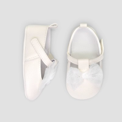 Baby Girls' Mary Jane Flats - Just One You® made by carter's Ivory 6-9M