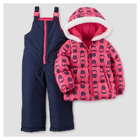 183814393 Toddler Girls' Outerwear Set - Just One You™ Made by Carter's® Pink ...