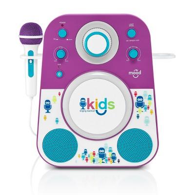 Singing Machine Kids' Mood Karaoke - Purple (SMK250PB)