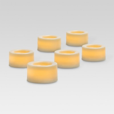 6pk LED Tea Lights Cream - Threshold™