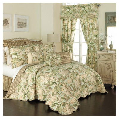 Floral Garden Glory Bedspread Set (Queen)3pc - Waverly
