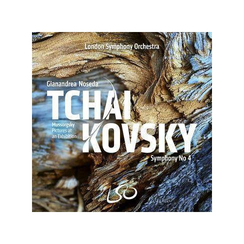 London Symphony Orchestra - Tchaikovsky/Mussorgsky: Symphony No. 4/Pictures At An Exhibition (CD) - image 1 of 1