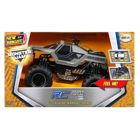 d9e0d747f8df New Bright Remote Control RC FF Chargers Monster Jam Soldier Of Fortune    Target