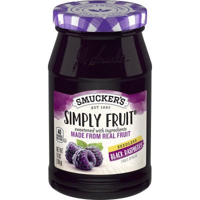 Smucker's Seedless Black Raspberry Spread - 10oz