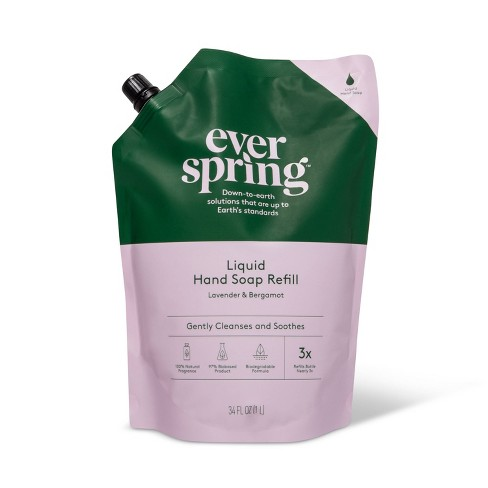 Liquid Hand Soap Refill - Lavender & Bergamot - Everspring™ - image 1 of 2