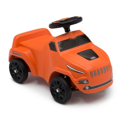 Jeep Cherokee Ride-On Push Car - Orange