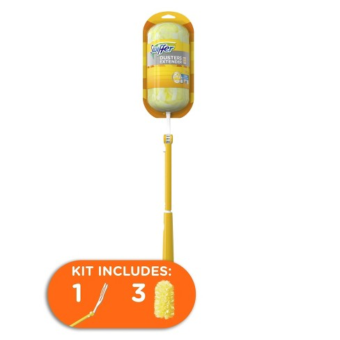 Swiffer Dusters Heavy Duty Extendable Handle Dusting Kit - 4pk - image 1 of 4