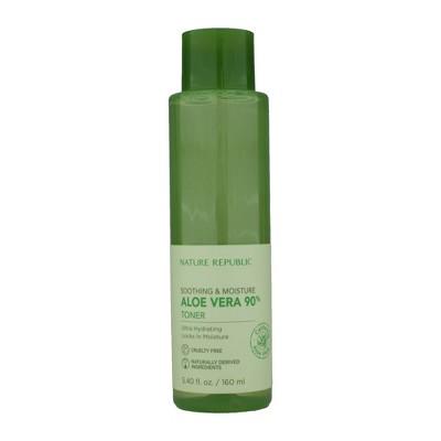 Nature Republic Soothing & Moisture Aloe Vera 90% Toner - 5.4 fl oz