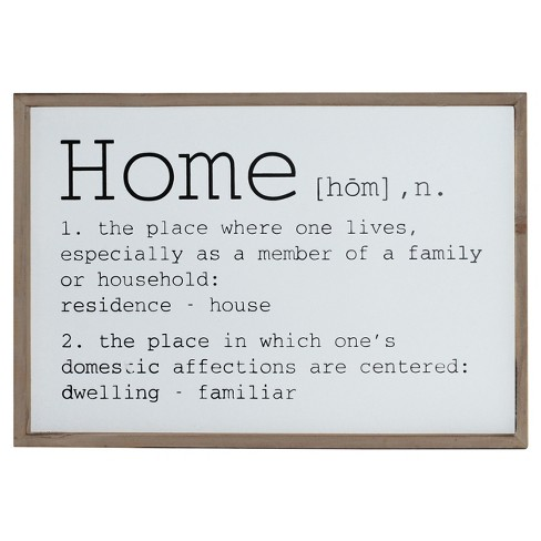 "Home Wall Sign (16""x24"") - VIP Home & Garden - image 1 of 1"
