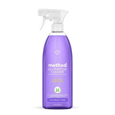 Method All Purpose Cleaners - French Lavender Spray Bottle - 28 fl oz