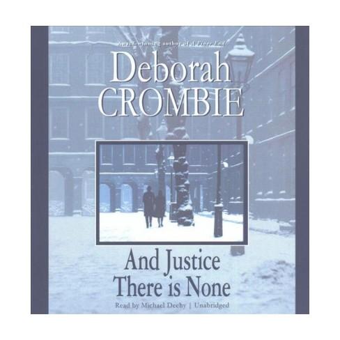 And Justice There Is None Unabridged Cdspoken Word Deborah