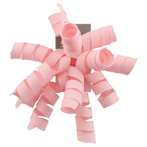 Curly Bow Light Pink - Spritz™ - image 1 of 1