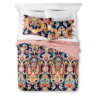 Almeria Quilt and Sham Set (Queen)Blue 3pc - Mudhut™