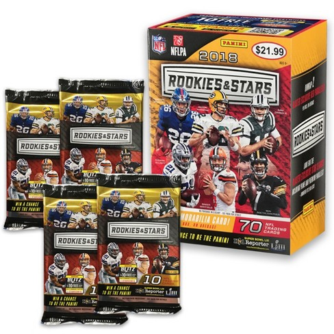 2018 Nfl Rookies Stars Football Blaster Box
