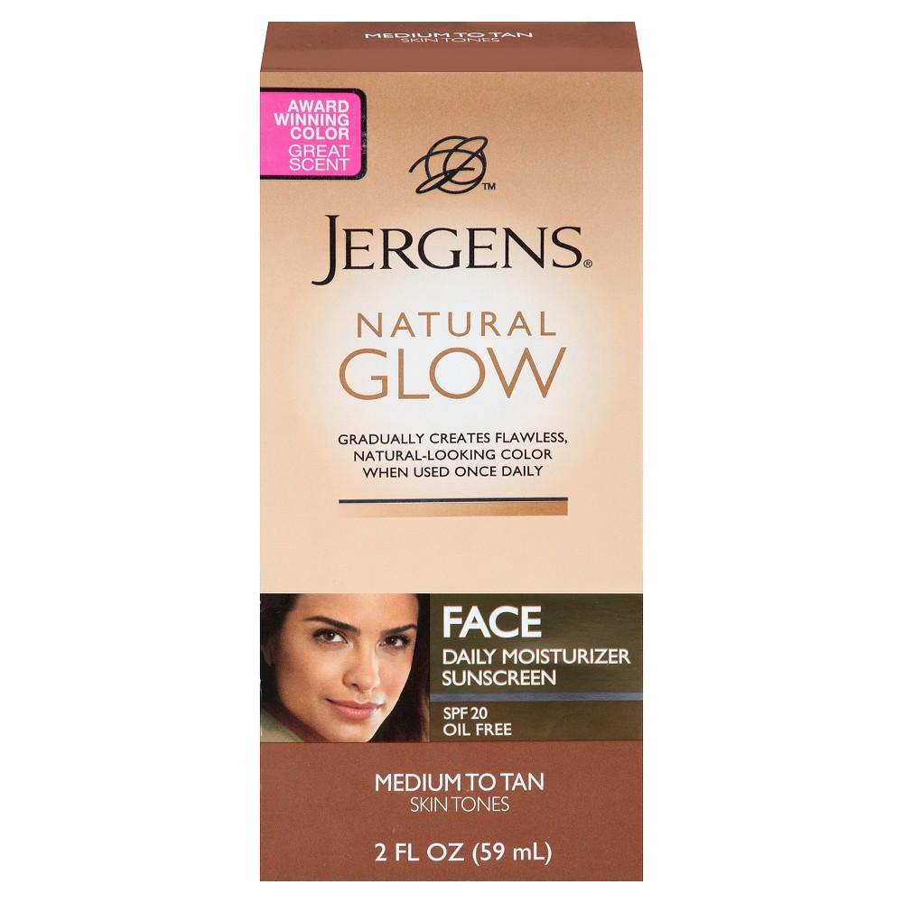 Image of Jergens Natural Glow Face Moisturizer 2 oz (Medium/Tan)