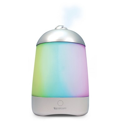Spa-Mist Ultrasonic Oil and Fragrance Diffuser Silver - SpaRoom