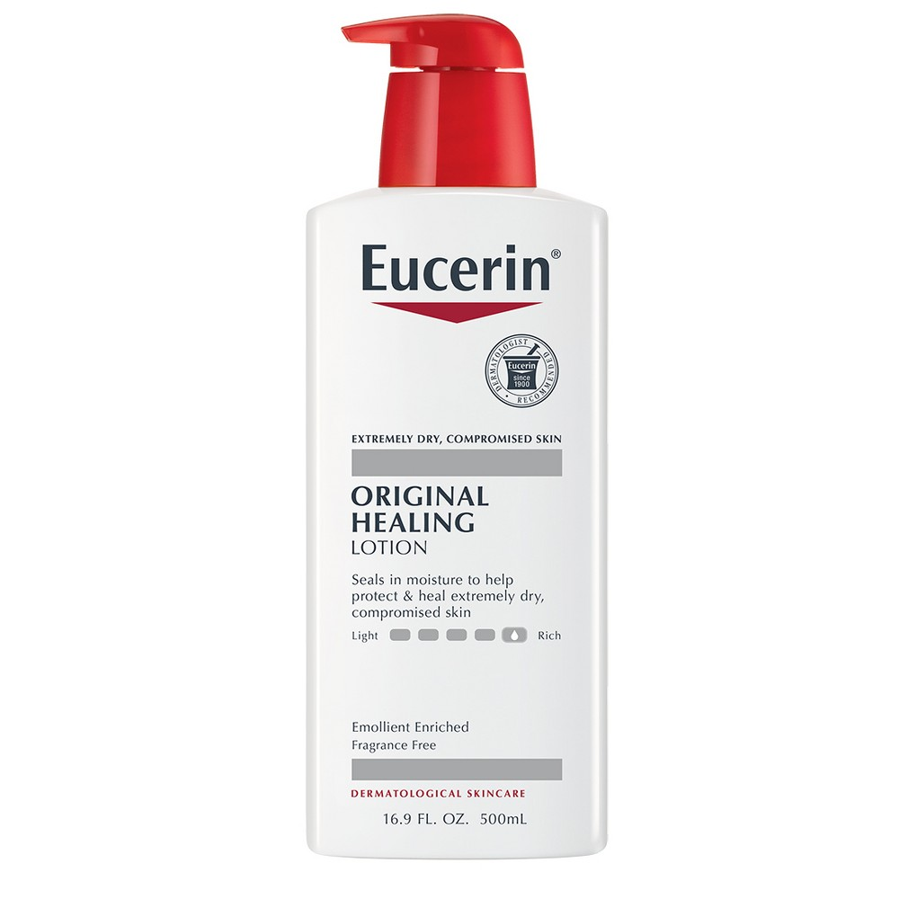 Unscented Eucerin Original Healing Soothing Lotion - 16.9oz