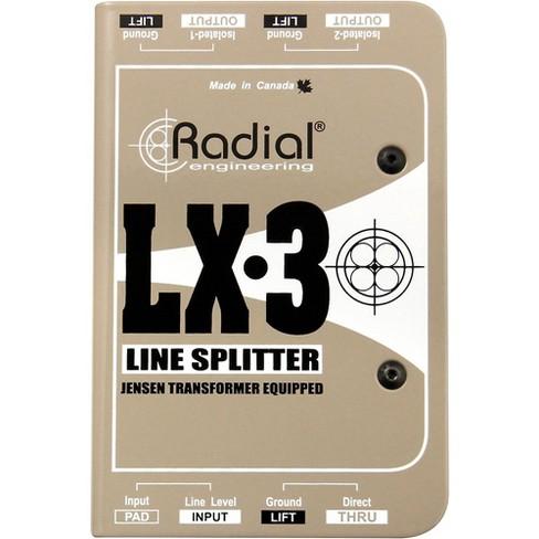 Radial Engineering LX-3 Passive 3 Channel Line Splitter - image 1 of 3