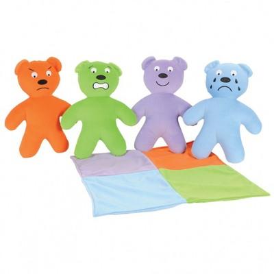 Kaplan Early Learning Emotion Bears  - Set of 4