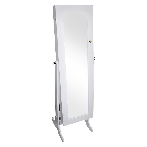 Jewelry Armoire White - Ore International - image 1 of 1