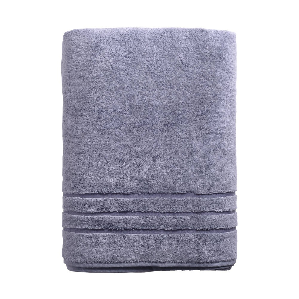"Image of ""70""""x40"""" Rayon from Bamboo Bath Sheet Blue - Cariloha"""