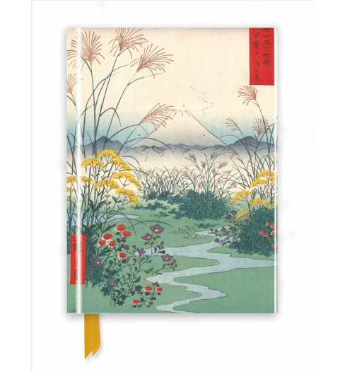 Hiroshige : From Series 36 - Foiled Journal -  New (Flame Tree Notebooks) (Hardcover) - image 1 of 1