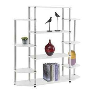 "52.5"" Wall Unit Bookshelf White - Breighton Home : Target"