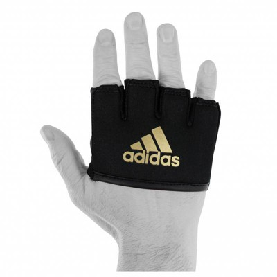 Adidas Inner Boxing Knuckle Protection Sleeve Wrap - Black/Gold