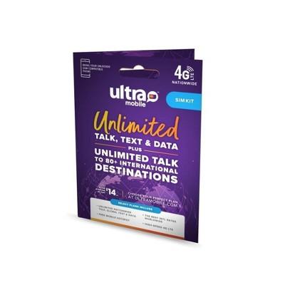 Unlocked Ultra Mobile SIM Kit