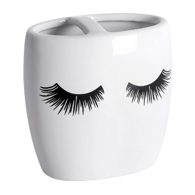 Cosmetique Toothbrush Holder White - Allure Home Creations
