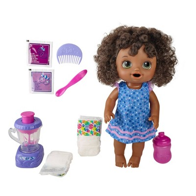Baby Alive Magical Mixer Baby Doll - Blueberry Blast