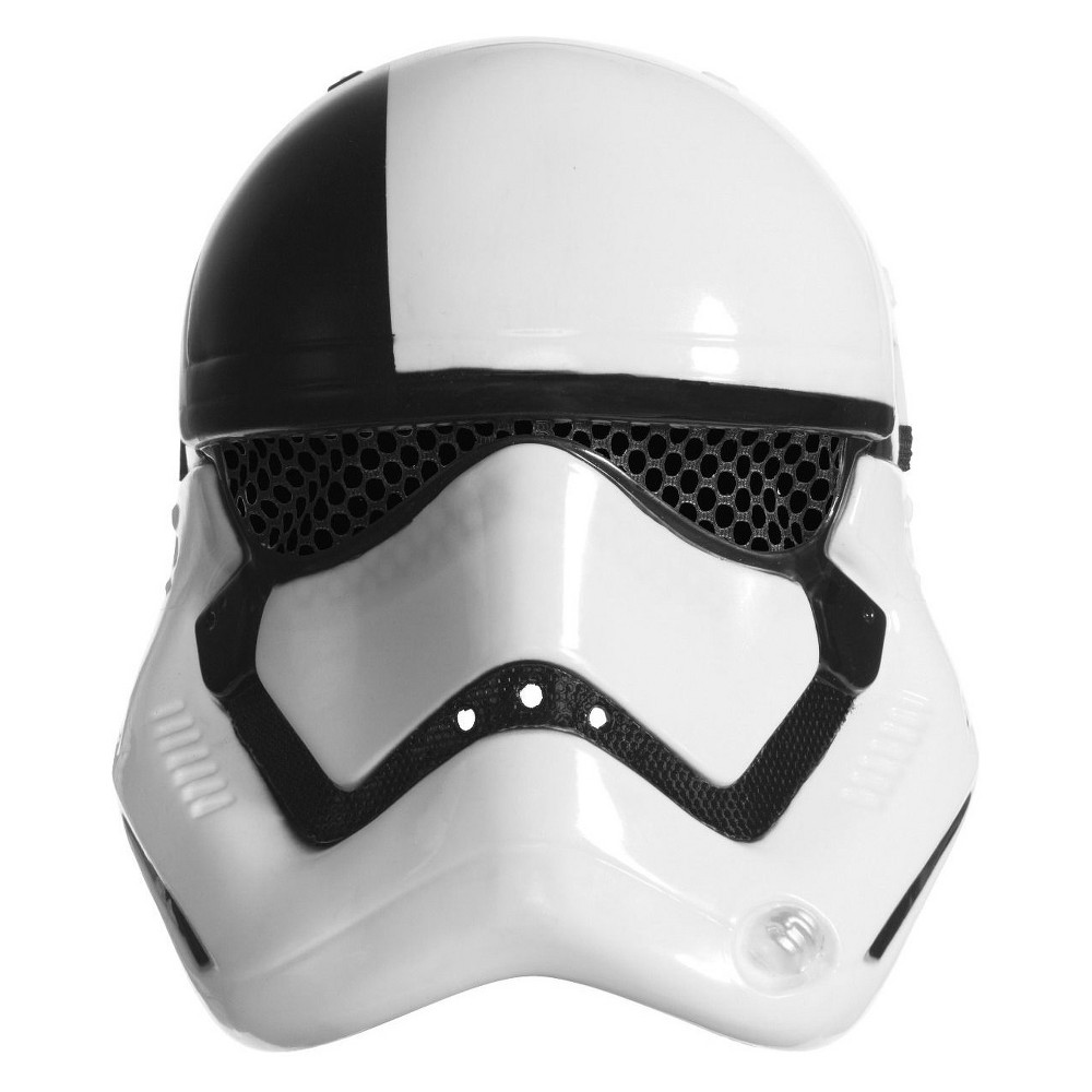 Image of Adult's Star Wars Episode VIII - The Last Jedi First Order Executioner Trooper Mask, Adult Unisex, White