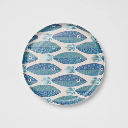 """8"""" Bamboo Melamine Salad Plate - Opalhouse™ - image 1 of 4"""