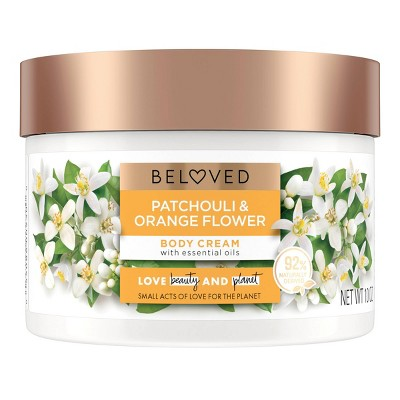 Beloved Patchouli & Orange Flower Body Cream Lotion - 10oz