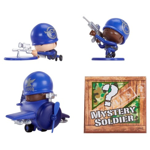 Awesome Little Green Men 4 Starter Pack Series 1- Marksmen Squad 4pc - image 1 of 5