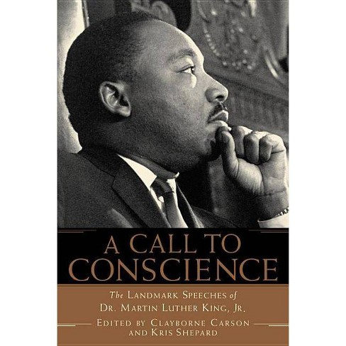 A Call to Conscience - by  Clayborne Carson & Kris Shepard (Paperback) - image 1 of 1