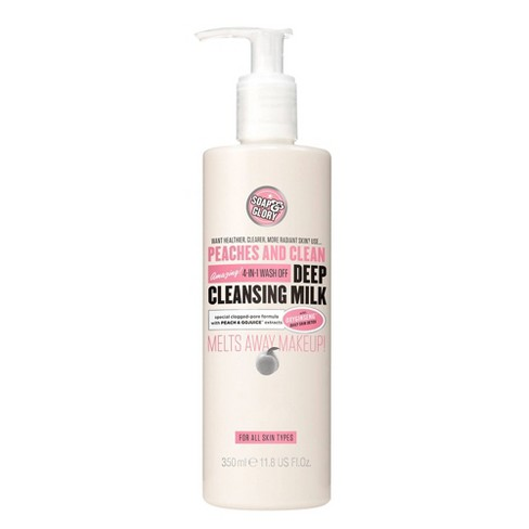 Soap & Glory Peaches & Clean Deep Cleansing Milk - 11.8 fl oz - image 1 of 4