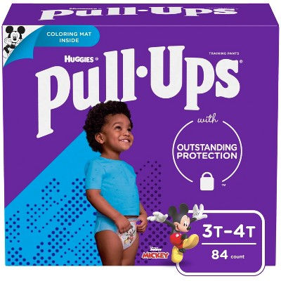 Huggies Pull Ups Disposable Training Pants - 3T-4T (84ct)