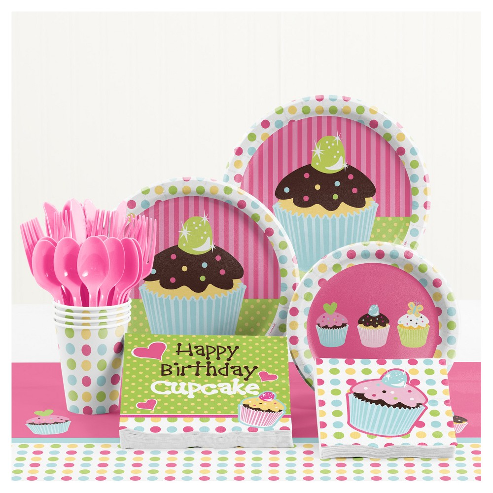 Sweet Treats Birthday Party Supplies Kit, Multi-Colored