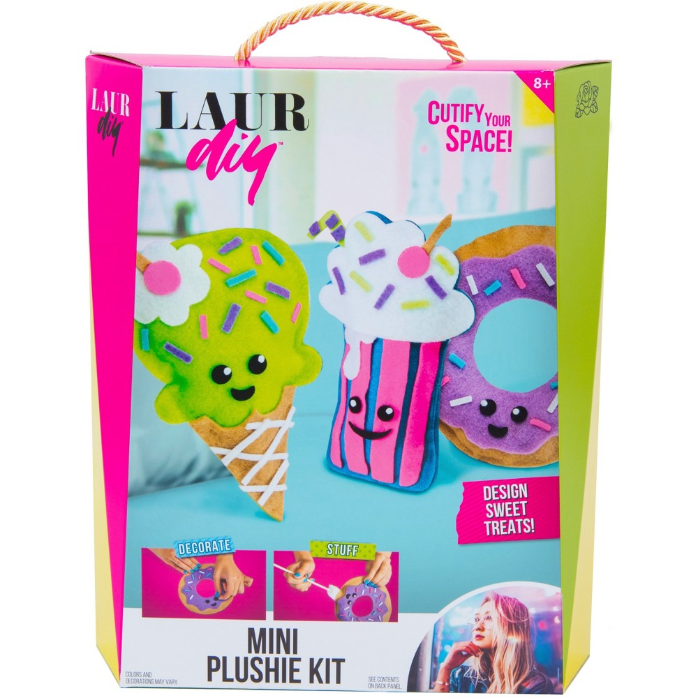 Image of LaurDIY Mini Plushie Craft Kit
