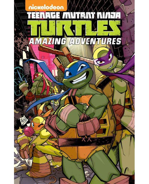 Teenage Mutant Ninja Turtles Amazing Adventures 4 (Paperback) (Matthew K. Manning & Caleb Goellner) - image 1 of 1