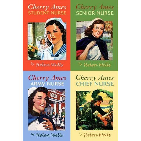 Cherry Ames Set, Books 1-4 - (Cherry Ames Nurse Stories) by  Helen Wells (Hardcover) - image 1 of 1