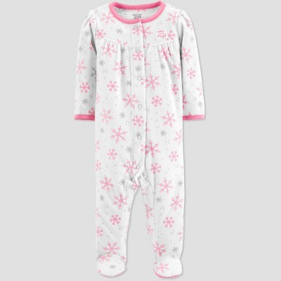 Baby Girls' Mommy's Angel Microfleece Sleep 'N Play - Just One You® made by carter's Cream Newborn
